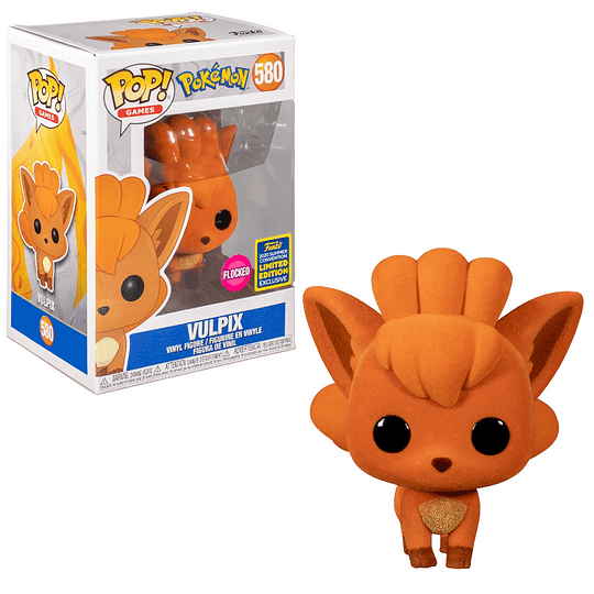 FUNKO POP! Games - Pokémon: Vulpix Limited Edition