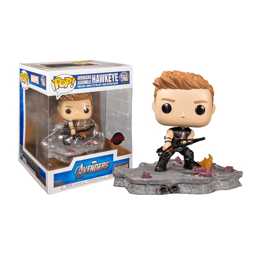 FUNKO POP DELUXE! Marvel - Avengers Assemble: Hawkeye Special Edition