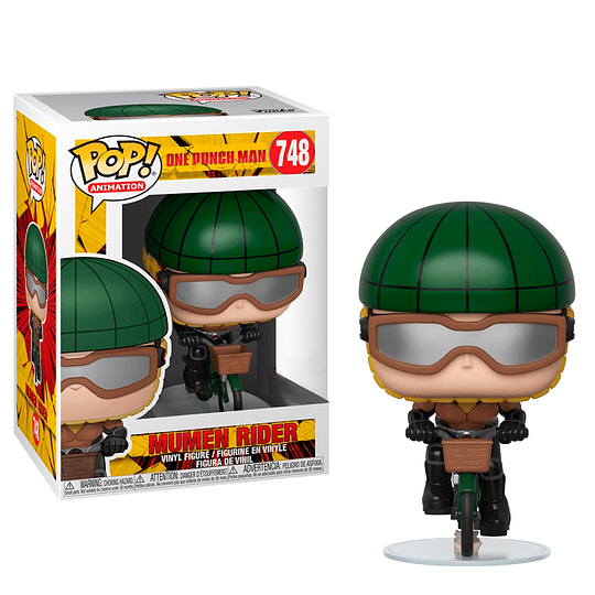 FUNKO POP! Animation - One Punch Man: Mumen Rider