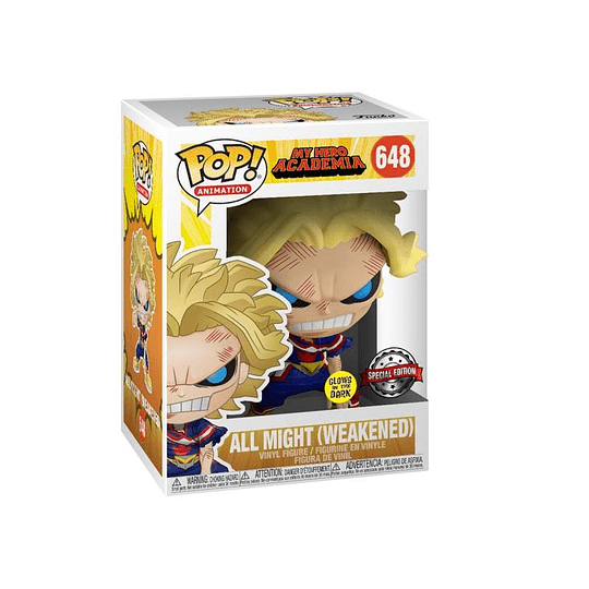 FUNKO POP! Animation - My Hero Academia: All Might (Weakened) Special Edition
