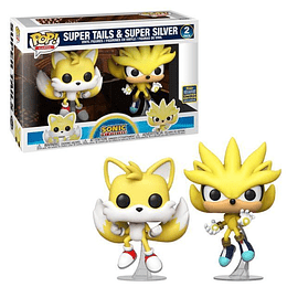 FUNKO POP! Games - Sonic: Super Tails & Super Silver Limited Edition