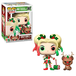 FUNKO POP! Heroes - DC: Harley Quinn with Helper Special Edition