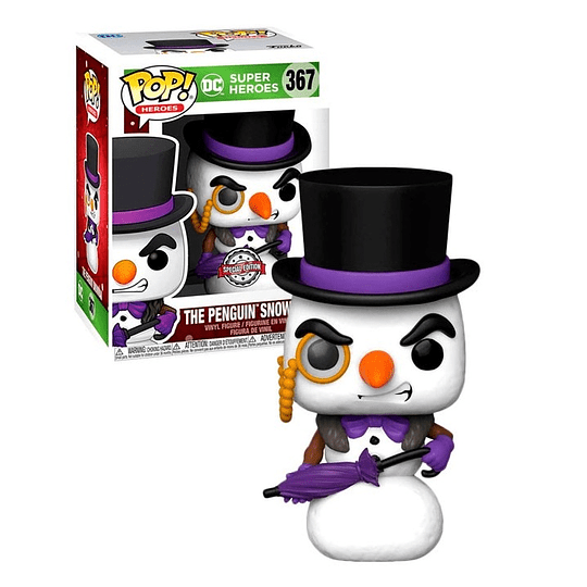 FUNKO POP! Heroes - DC: The Penguin Snowman Special Edition