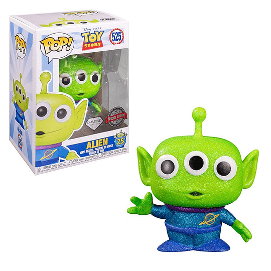 FUNKO POP DIAMOND! Disney Pixar - Toy Story: Alien Special Edition