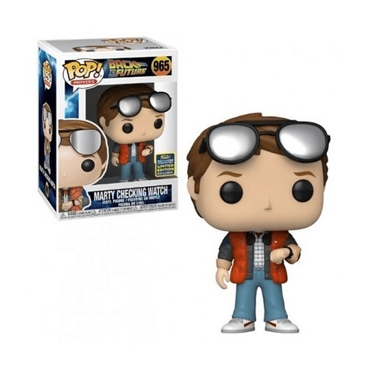 Funko Pop! Back To The Future: Marty Checking Watch Limited Edition