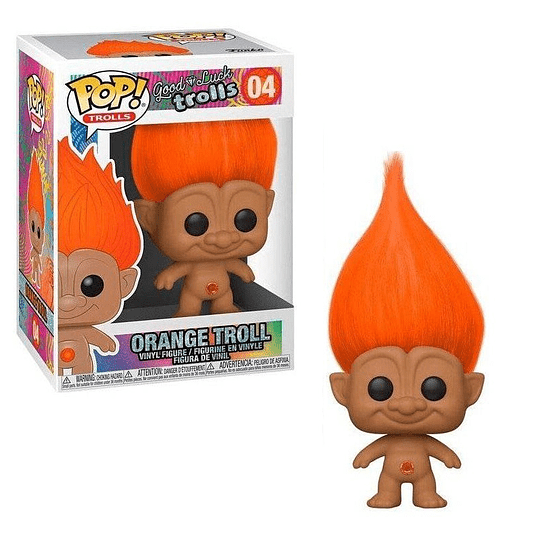 FUNKO POP! Trolls - Good Luck Trolls: Orange Troll