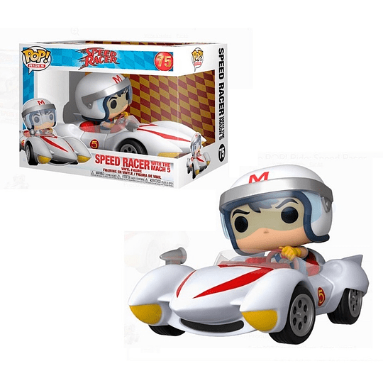 FUNKO POP DELUXE! Rides - Speed Racer with the Mach 5