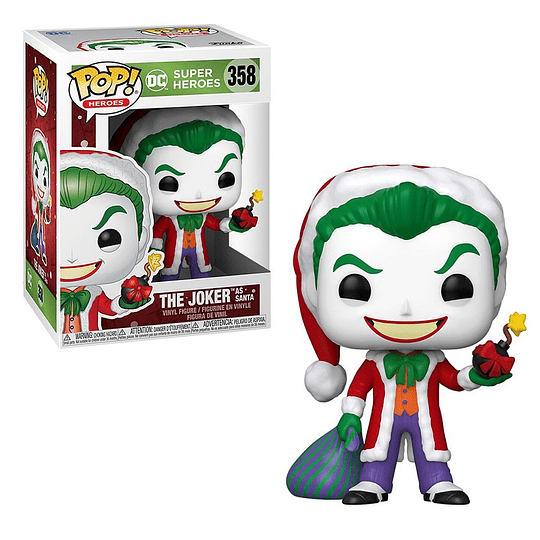 FUNKO POP! Heroes - DC Super Heroes: The Joker as Santa