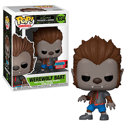 FUNKO POP! Television - The Simpsons: Werewolf Bart Limited Edition