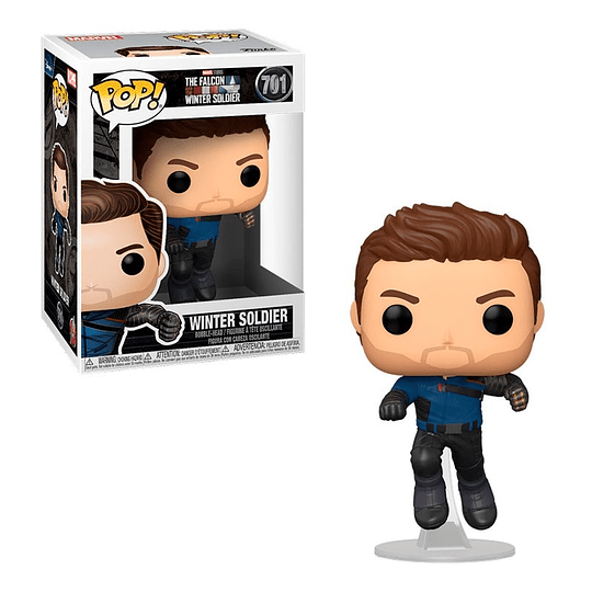 FUNKO POP! Marvel - The Falcon and the Winter Soldier: Winter Soldier