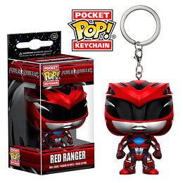 POCKET POP KEYCHAIN! Power Rangers - Red Ranger
