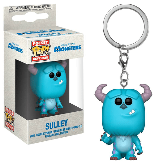 POCKET POP KEYCHAIN! Disney Pixar - Sulley