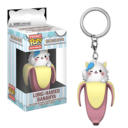 POCKET POP KEYCHAIN! Long-Haired Bananya