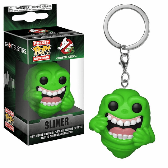 POCKET POP KEYCHAIN! Ghostbusters - Slimer