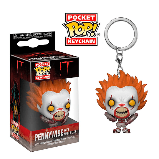 POCKET POP! KEYCHAIN! It - Pennywise with Spider Legs