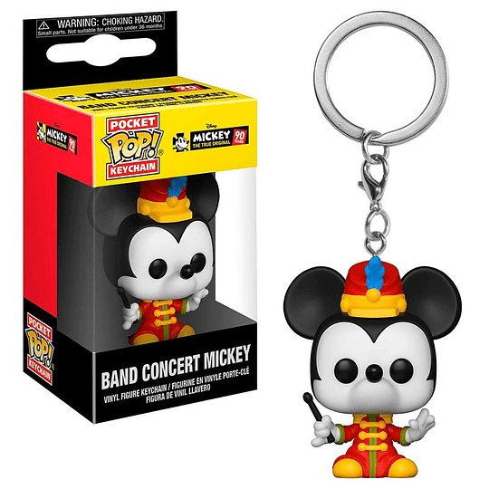 POCKET POP KEYCHAIN! Disney - Band Concert Mickey