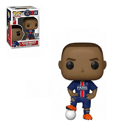 FUNKO POP! Sports Football - PSG: Kylian Mbappé Blue