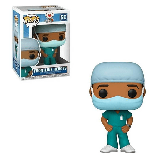 FUNKO POP! Frontline Heroes - Male Green