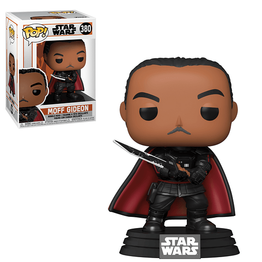 FUNKO POP! Star Wars - The Mandalorian: Moff Gideon