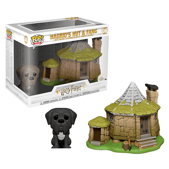 FUNKO POP DELUXE! Movies - Harry Potter: Hagrids Hut & Fang