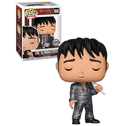 FUNKO POP DIAMOND! Rocks - Elvis 68 Comeback Special Edition