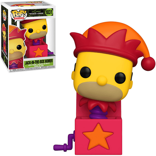 FUNKO POP! Television - The Simpsons Treehouse of Horror: Jack in the Box Homer