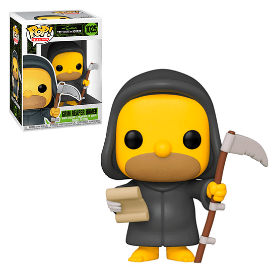 FUNKO POP! Television - The Simpsons Treehouse of Horror: Grim Reaper Homer