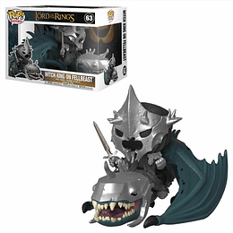 FUNKO POP DELUXE! Rides - The Lord Of the Rings: Witch king on Fellbeast