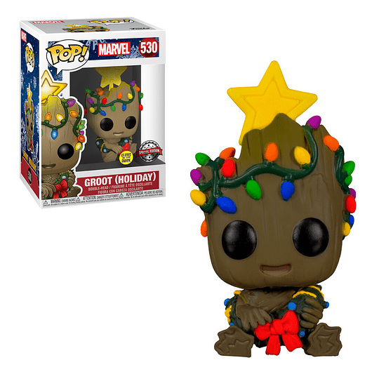 FUNKO POP! Marvel - Groot Holiday Especial Edition