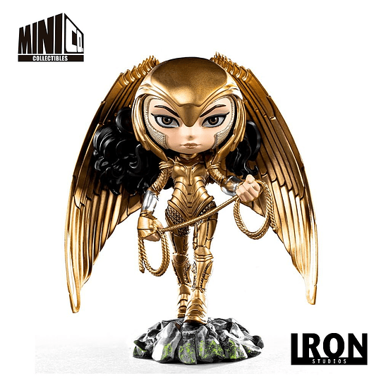 MiniCo. Heroes - DC: Wonder Woman Golden Armor