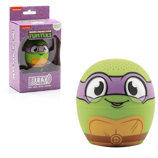 BITTY BOOMERS! Ninja Turtles - Donatello Bluetooth Speaker