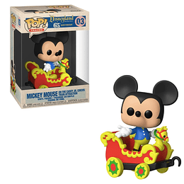 FUNKO POP TRAINS! Disneyland 65th Anniversary - Mickey Mouse on the Casey Jr. Circus Train Attraction