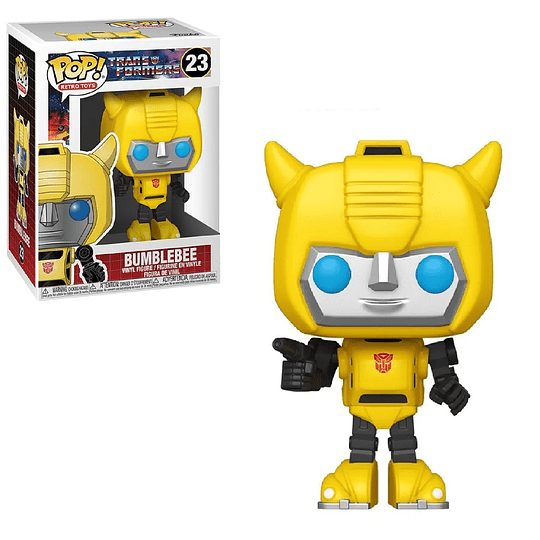 FUNKO POP! Retro Toys - Transformers: Bumblebee
