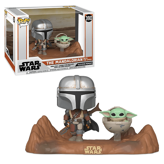 FUNKO POP DELUXE! Star Wars - The Mandalorian with the Child