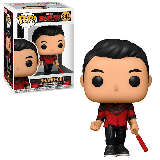 FUNKO POP! Marvel - Shang - Chi and the Legend of the Ten Rings: Shang - Chi with  Red Weapon