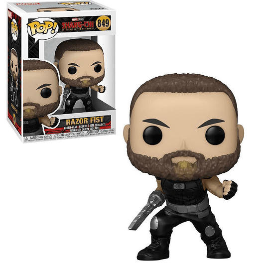 FUNKO POP! Marvel - Shang-Chi and the Legend of the Ten Rings: Razor Fist