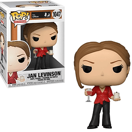 FUNKO POP! Television - The Office: Jan Levison with Wine & Clandle