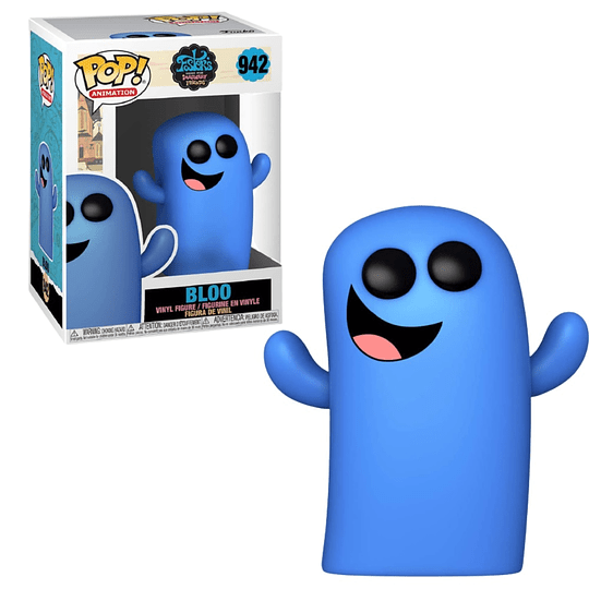 FUNKO POP! Animation - Foster´s Home for imaginary Friends: Bloo