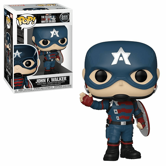 FUNKO POP! Marvel - The Falcon and the Winter Soldier: Jhon F. Walker