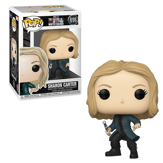 FUNKO POP! Marvel - The Falcon and the Winter Soldier: Sharon Carter