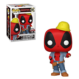 FUNKO POP! Marvel - Deadpool: Construction Worker Deadpool Special Edition