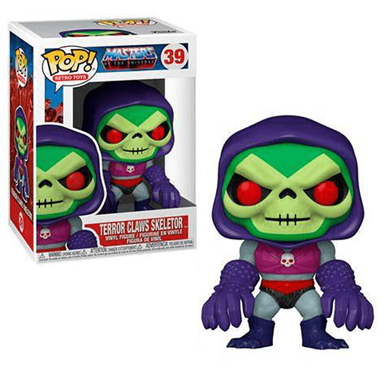 FUNKO POP! Television - Masters of the Universe: Terror Claws Skeletor
