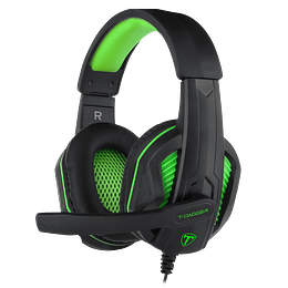 WIRED GAMING HEADSET T- DAGGER COOK Modelo T-RGH100