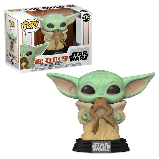 FUNKO POP! Star Wars - The Mandalorian: The Child With Frog