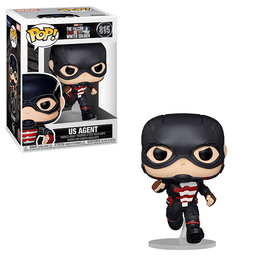 FUNKO POP! Marvel - The Falcon and the Winter Soldier: Us Agent
