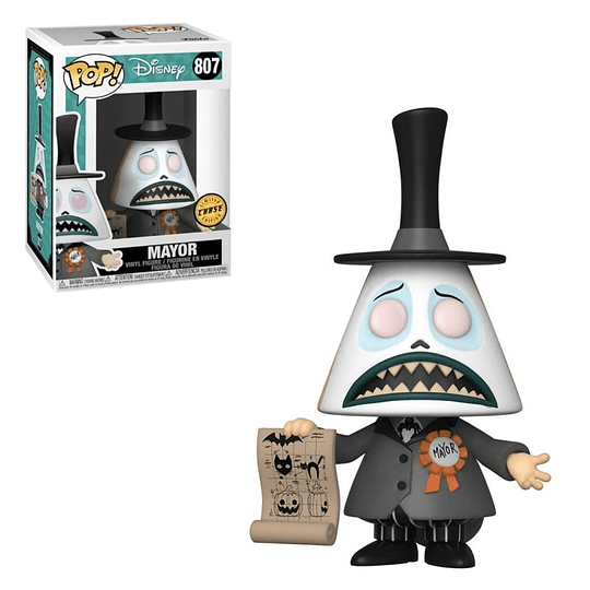 FUNKO POP! Disney - Nightmare before Christmas: Mayor Limited Edition Chase