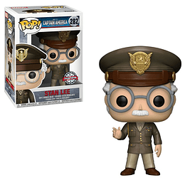FUNKO POP! Marvel - Captain America First Avenger: Stan Lee Special Edition