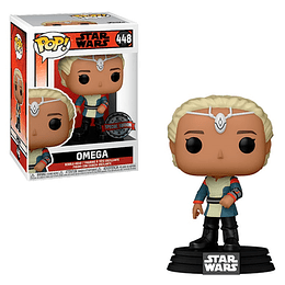 FUNKO POP! Star Wars - The Bad Batch: Omega Special Edition