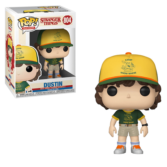 FUNKO POP! Television - Stranger Things: Dustin At Camp