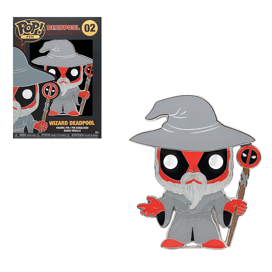 POP PINS! Marvel - Deadpool: Wizard Deadpool
